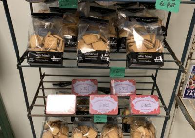 Des confiseries et des biscuits