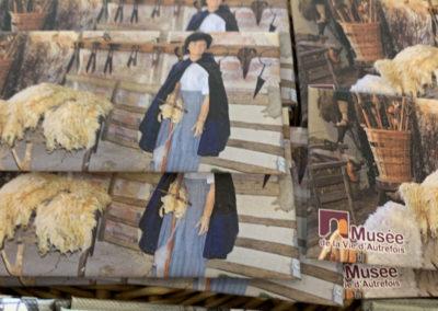 Des magnets souvenirs du musée