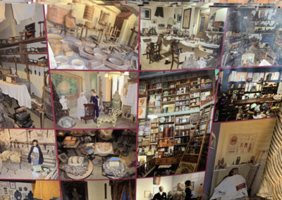 Des sets de tables souvenir du musée